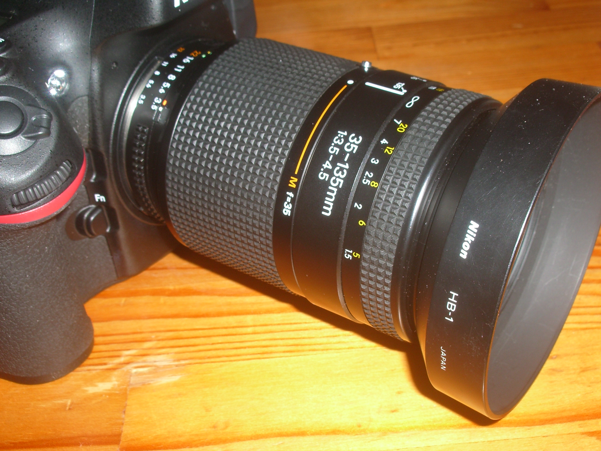 ai af zoom nikkor 35 135mm f3 5 4 5 cut and try