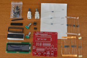 DDS信号発生器キット内容
