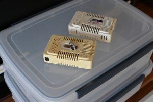 防湿箱と乾燥器